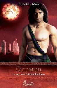 Cameron, tome 3 de la saga des enfants des dieux