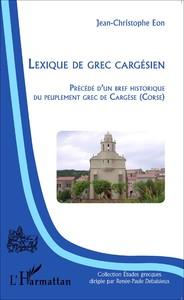 lexique de grec cargesien