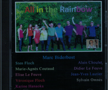 """2021 CD """"All in the Rainbow"""""""